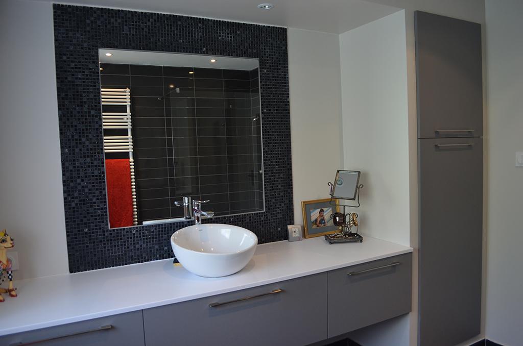 Salle de bain sur mesure Lorient