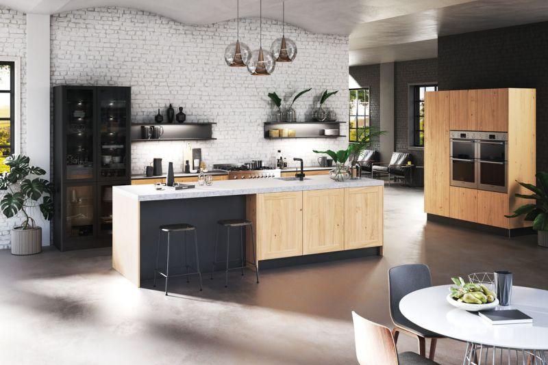 Création cuisine bois Lorient